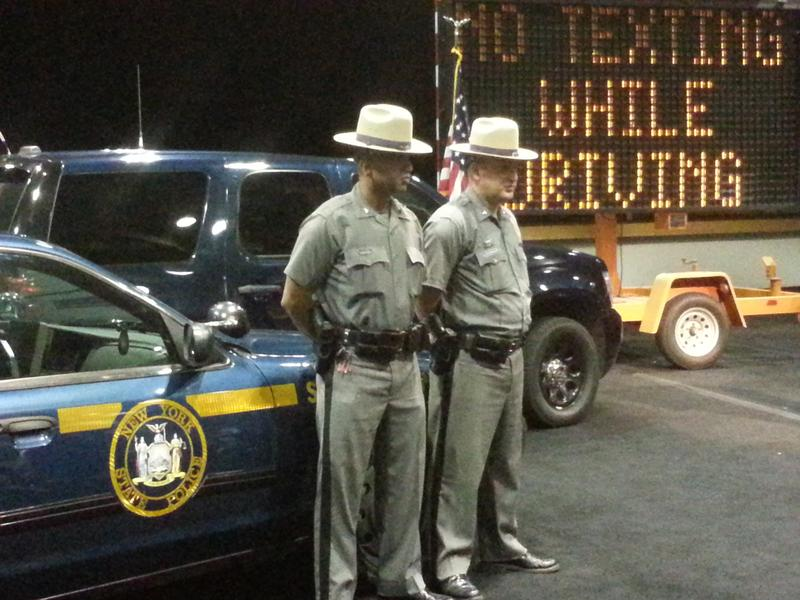 NY State Troopers Show Off The Vehicles Theyll Use To Crack Down On Distracted