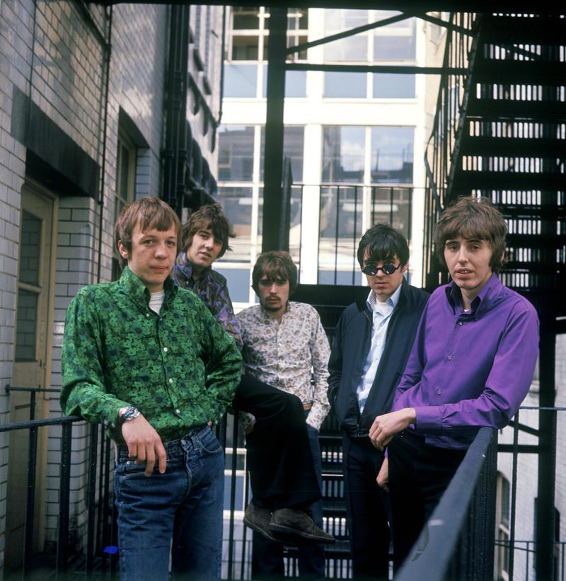 Procol Harum photographed in the late 1960s