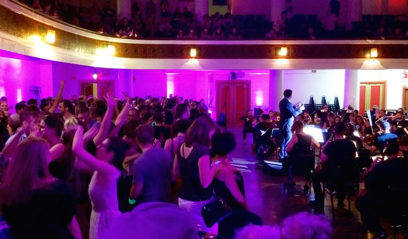 A Rite of Spring Dance Party at the Masonic Temple in Brooklyn
