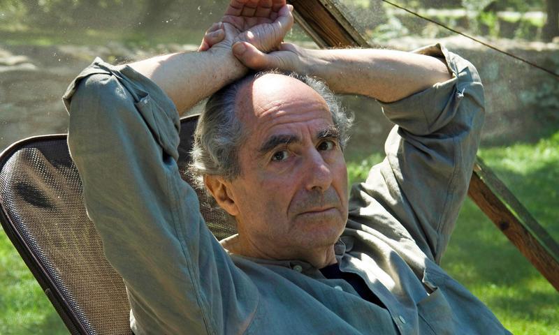 Novelist Philip Roth