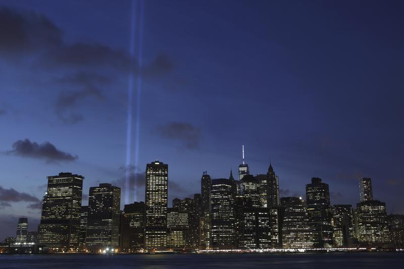 September 11, 2014 Tribute in Light