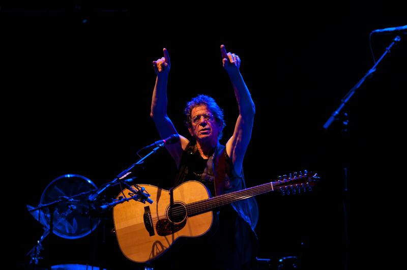 Lou Reed performs at the Pohoda Music Festival at the Trencin Airport in Trencin, Slovakia on July 7, 2012.