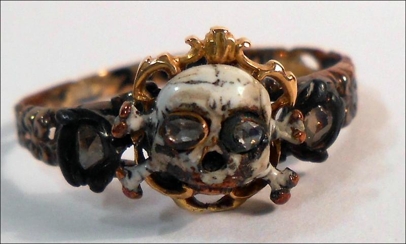 Mourning Jewelry Morbid With A Touch Of Class Studio 360 Wnyc