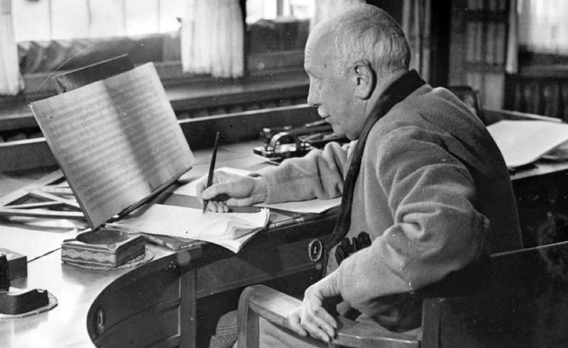 Richard Strauss in the 1940s