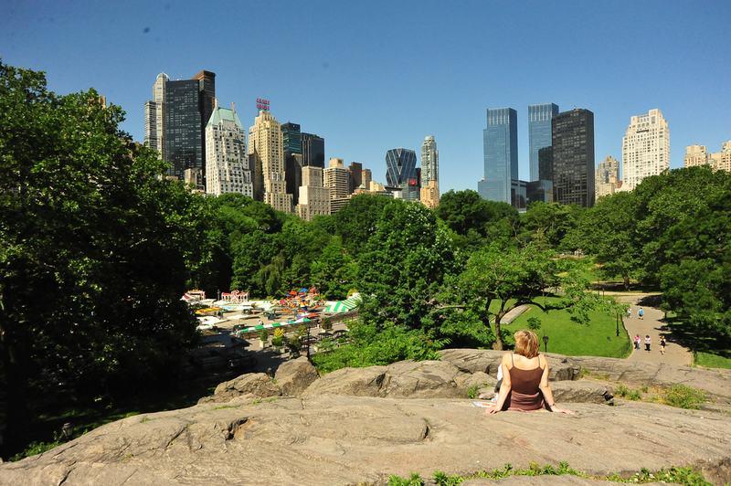 Summer in Central Park.