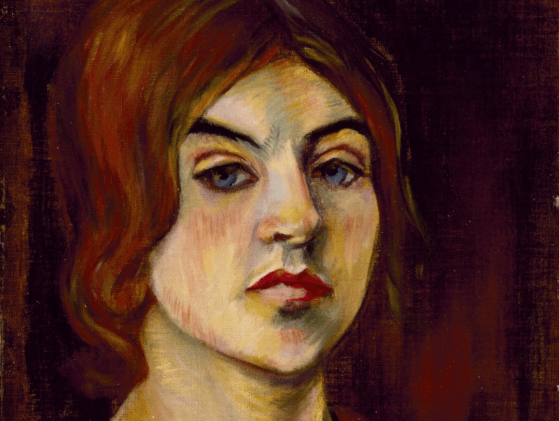 Self Portrait of Suzanne Valadon