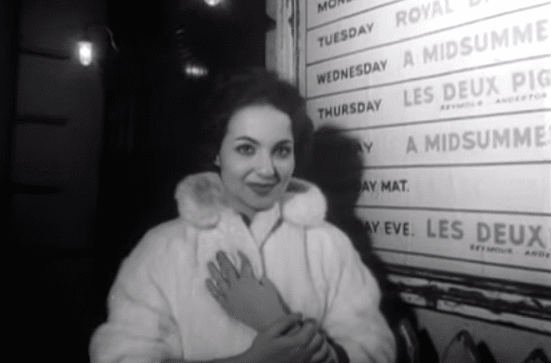 Teresa Stratas, profiled in a Movietone newsreel, c. 1959
