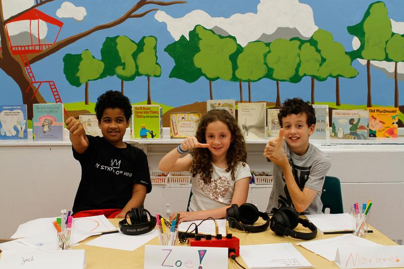 Zach, Zoe and Marlowe from New York's Little Red School House look like Tough Critics.
