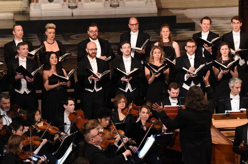 The Choir of Trinity Wall Street.
