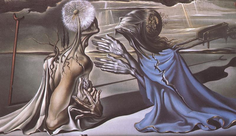 Salvador Dali's 'Tristan and Isolde.'