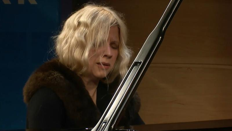 Valentina Lisitsa performs Beethoven in The Greene Space on Nov. 20, 2011.