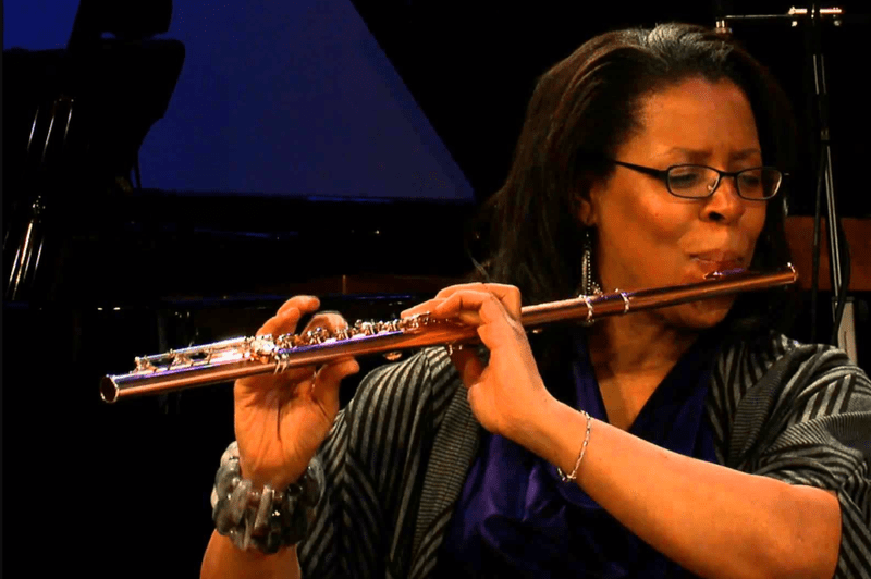 Flautist and composer Valerie Coleman