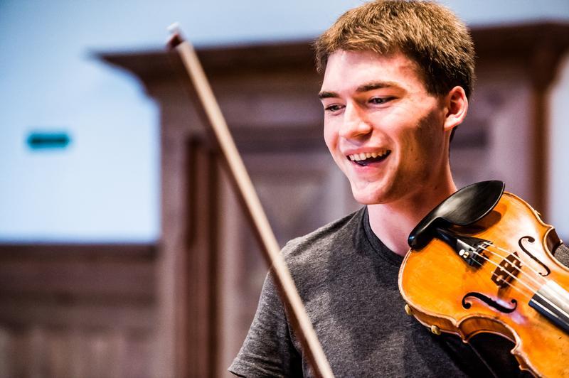 Violinist Alexi Kenney
