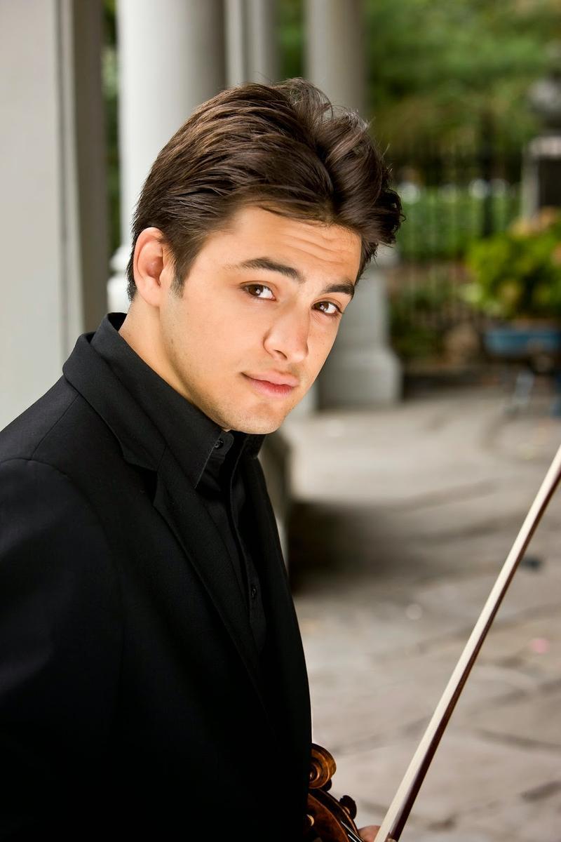 Israeli violinist Asi Matathias