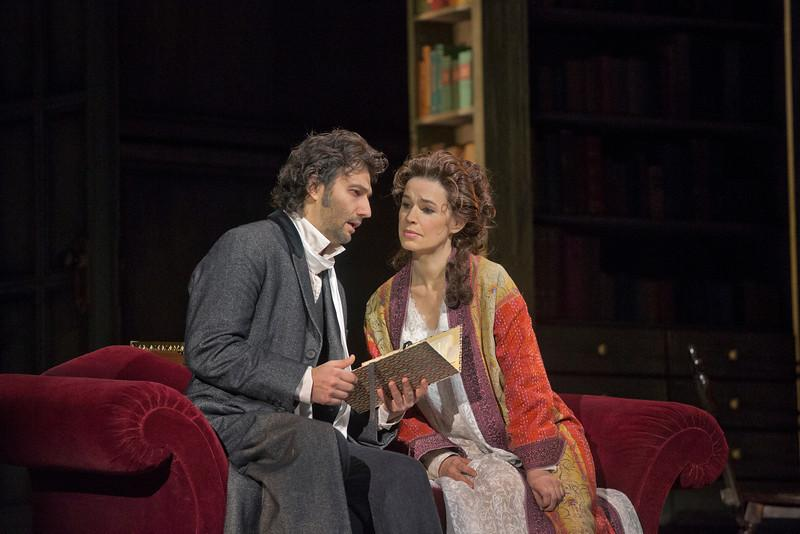 """Jonas Kaufmann as the title character and Sophie Koch as Charlotte in Massenet's """"Werther."""""""
