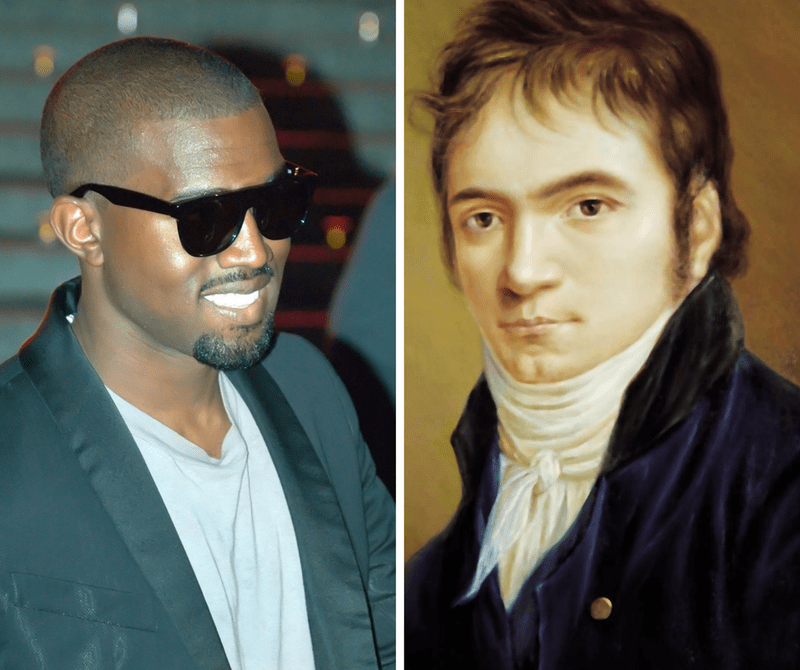 Kanye West and Beethoven