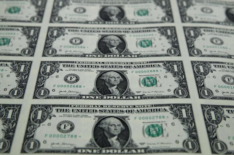 A Sheet Of New 1 Bills At The Bureau Engraving And Printing In Washington Wednesday Nov 15 2017 Jacquelyn Martin Ap Images