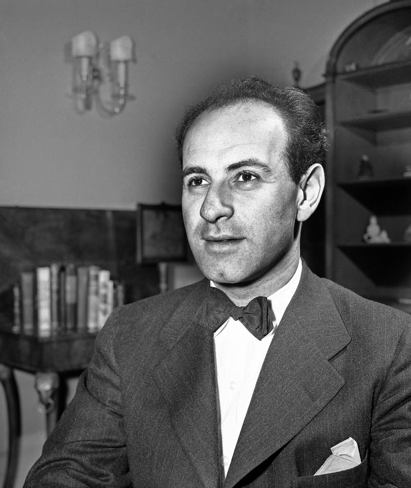 Orchestra conductor Erich Leinsdorf, pictured in New York on April 22, 1943.