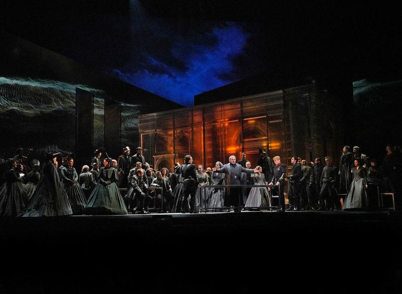 A scene from Act I of Verdi's 'Otello.'