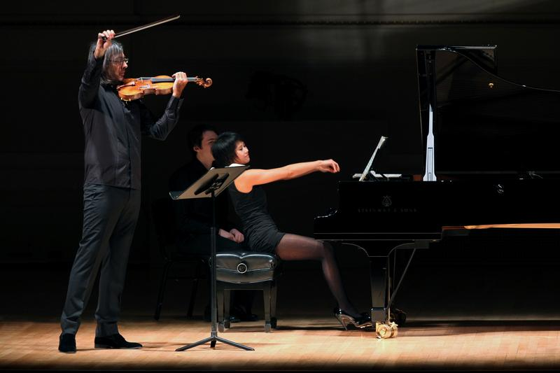 Violinist Leonidas Kavakos and pianist Yuja Wang