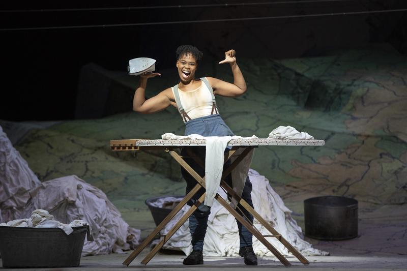 "Pretty Yende as Marie in Donizetti's ""La Fille du Régiment."""