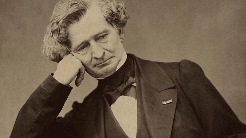 The composer Hector Berlioz