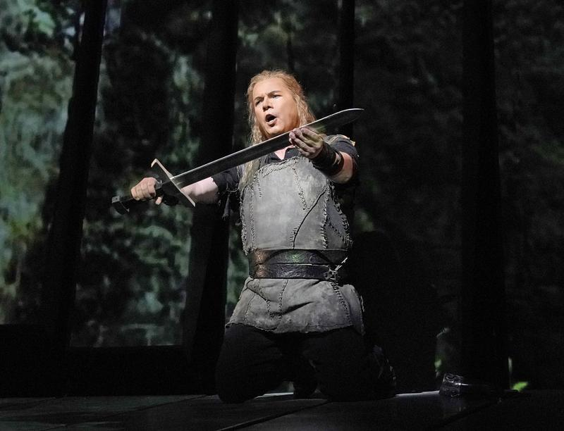 "Stefan Vinke in the title role of Wagner's ""Siegfried."""