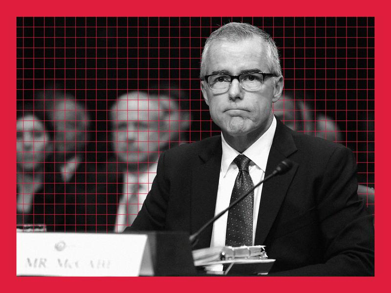 Former FBI Deputy Chief Andrew McCabe and Trump, Inc  Compare Notes