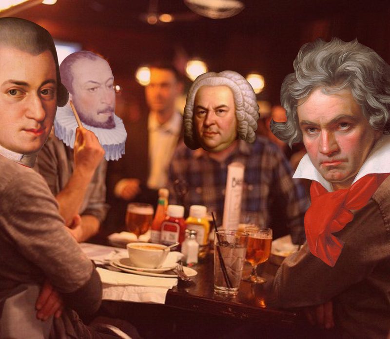 So, these four composers walk into a bar...