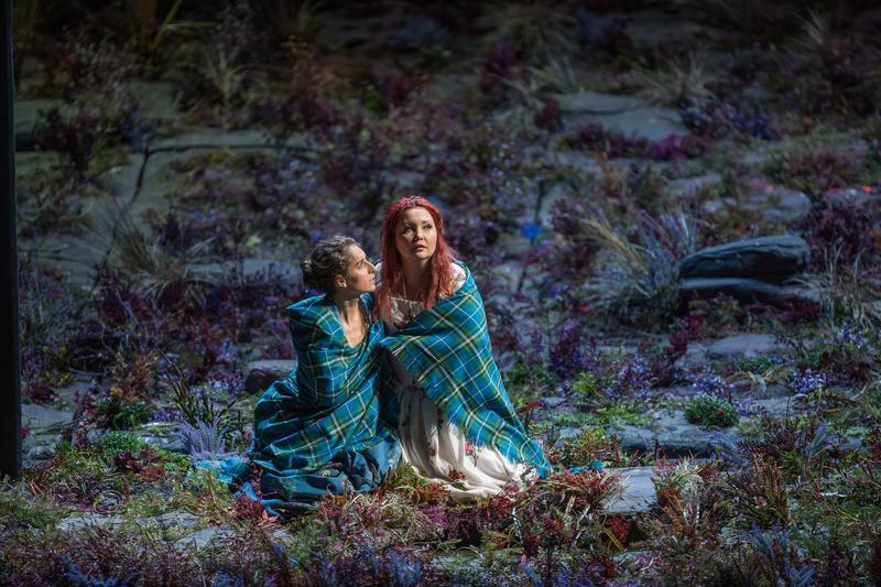 Albina Shagimuratova in the title role of Donizetti's Lucia di Lammermoor