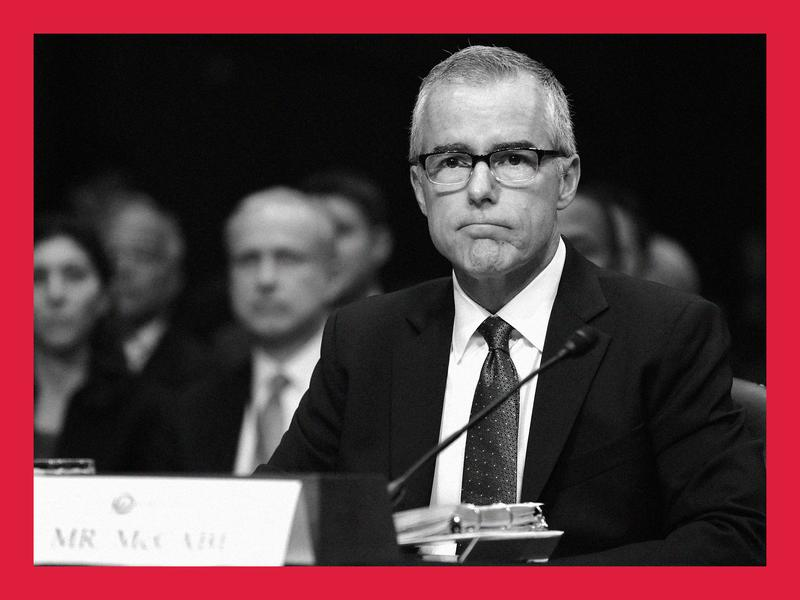Former FBI Deputy Chief Andrew McCabe and Trump, Inc