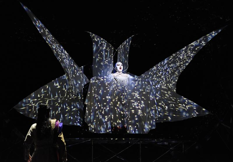 """Kathryn Lewek as the Queen of the Night in Mozart's """"The Magic Flute"""