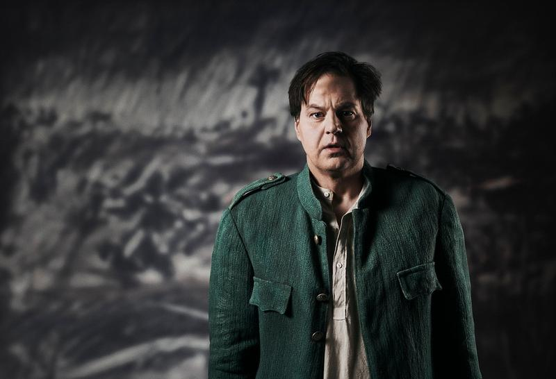 "Peter Mattei in the title role of William Kentridge's new production of Berg's ""Wozzeck."""