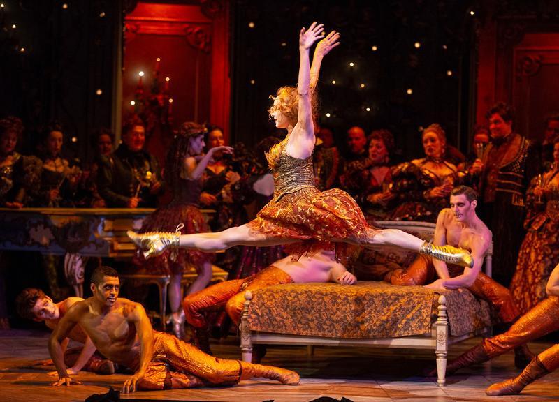 "Sara Mearns in Act II, Scene 2 of Verdi's ""La Traviata."""
