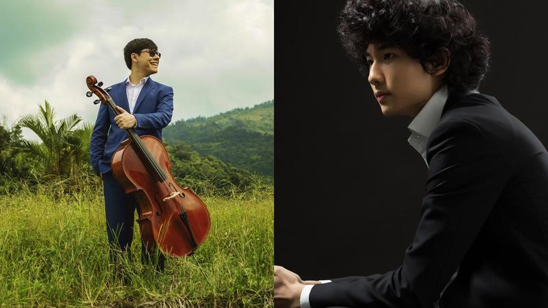 Cellist Zlatomir Fung and Pianist Tony Yun