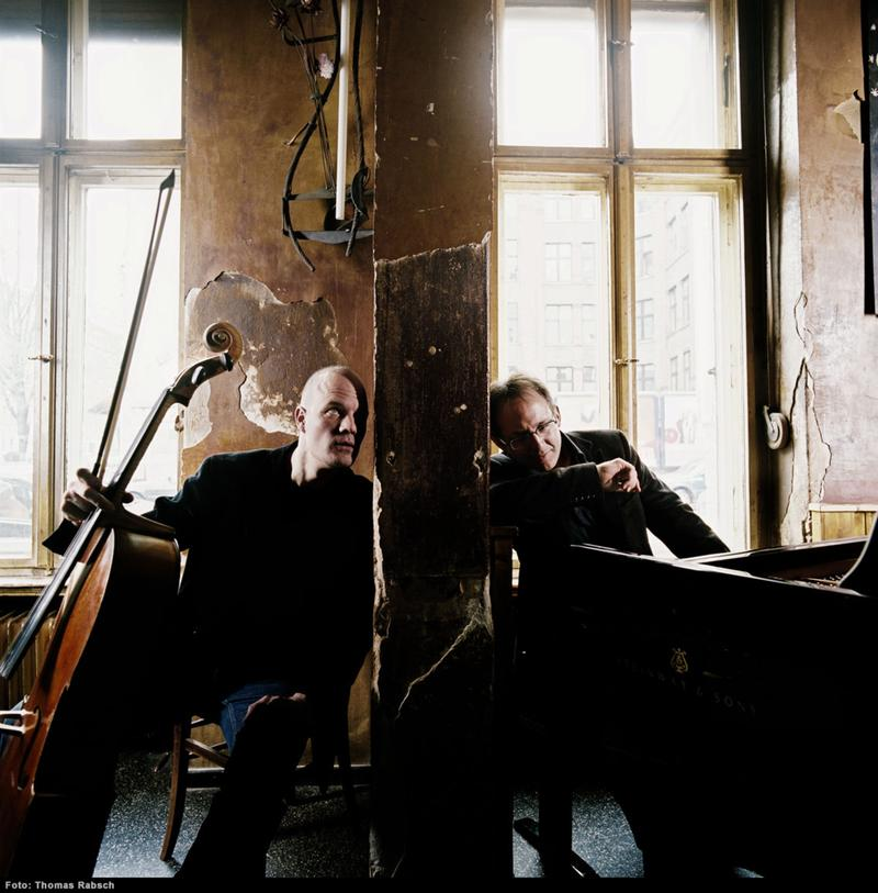 Cellist Eckart Runge and pianist Jacques Ammon