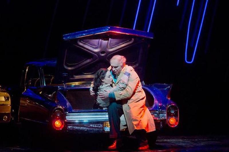 Dmitri Hvorostovsky as the title character and Sonya Yoncheva as Gilda in Verdi's 'Rigoletto'