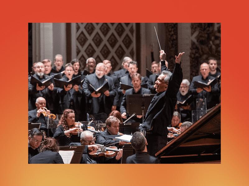 Louis Langrée and the Cincinnati Symphony Orchestra