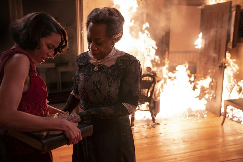 Jurnee Smollett and Regina Taylor in HBO's 'Lovecraft Country'