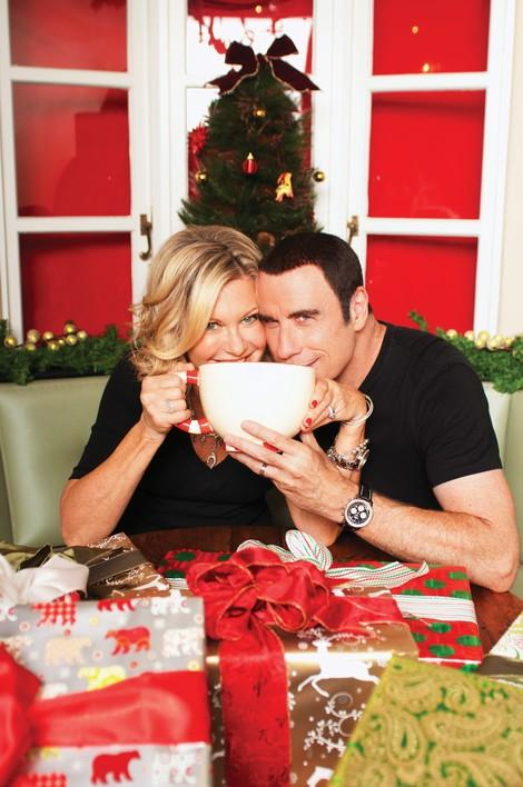 olivia newton john and john tavolta s new holiday album is called this christmas
