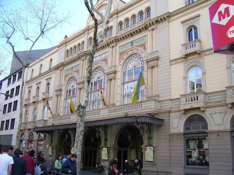 Gran Teatro del Liceu, Barcelona