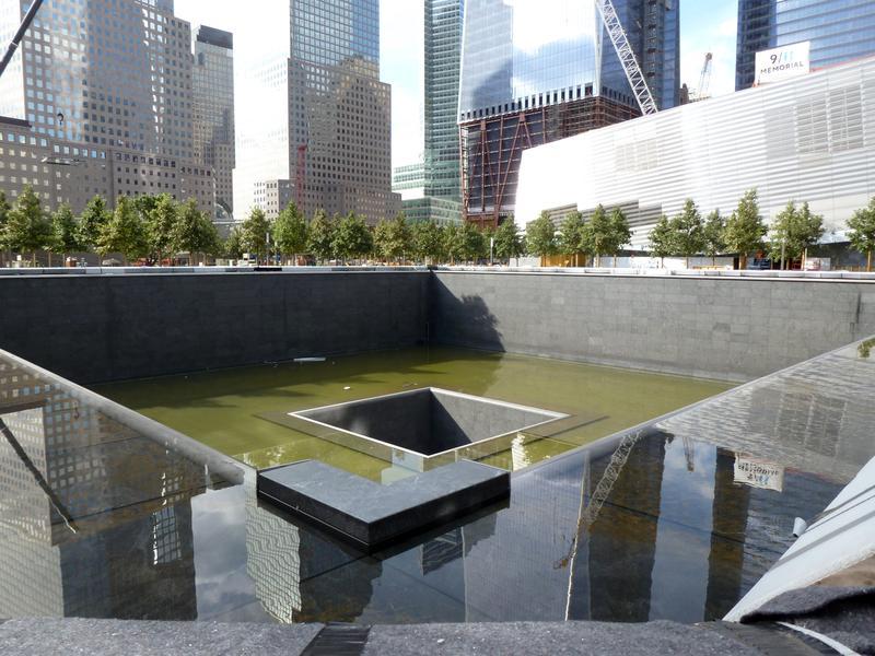 9/11 memorial building site, July 27, 2011