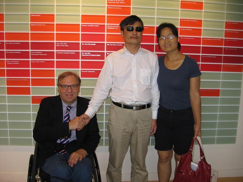 Chen Guangcheng on Disability, Human Rights and China | The