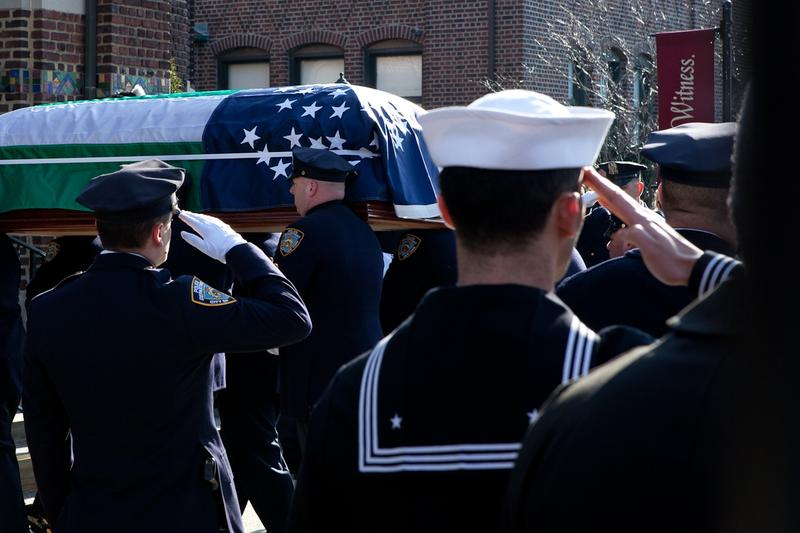 Thousands Mourn Loss of Officer Peter Figoski at Long Island