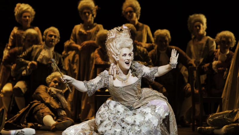 Soprano Diana Damrau in <em>Mignon</em> from the Grand Theatre of Geneva.