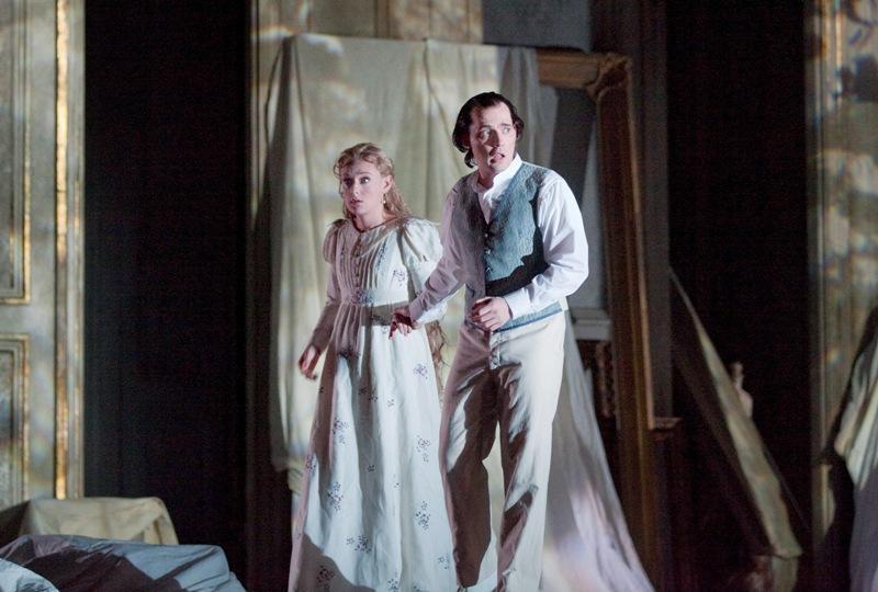 Magdalena Kozena and Stephane Degout in Debussy's <em>Pelleas et Melisande</em>
