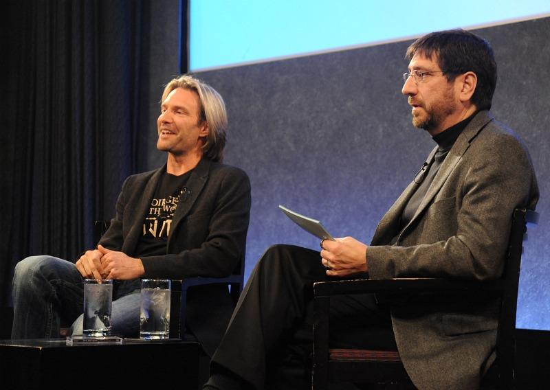 Jeff Spurgeon interviews Eric Whitacre at the Paley Center