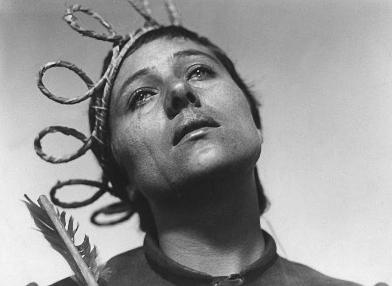 Maria Falconetti in 'The Passion of Joan of Arc'
