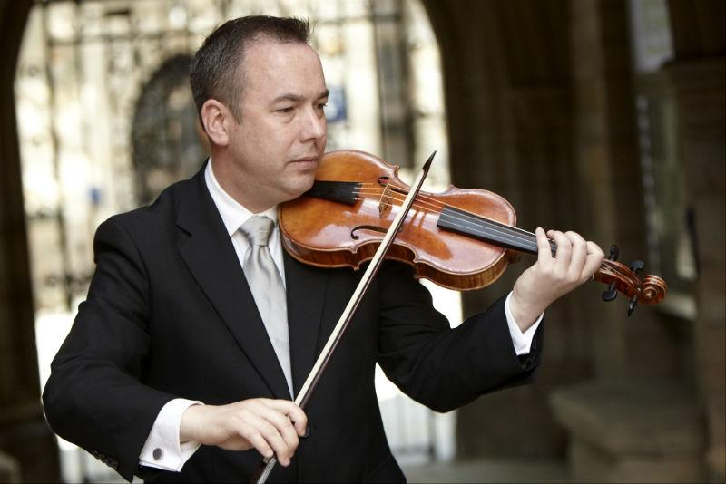 Robert Mealy, violinist