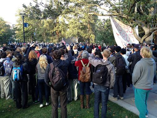 public outcry after pepper spray incident at uc davis the takeaway